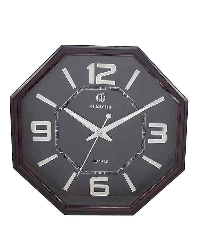 Wall Clock - 12x12'' - Black