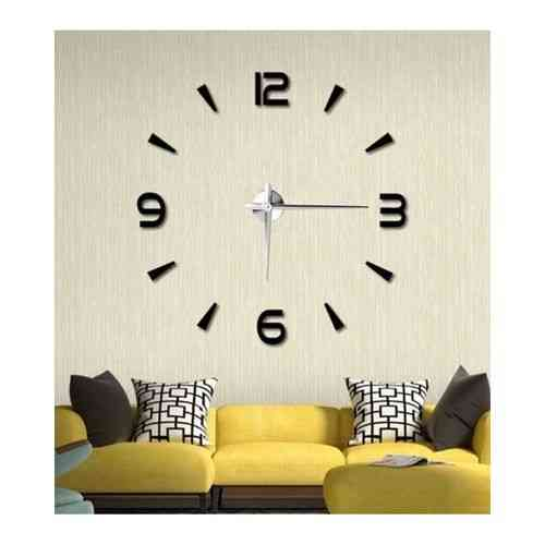 Silent DIY Wall Clock - Black -40x40""