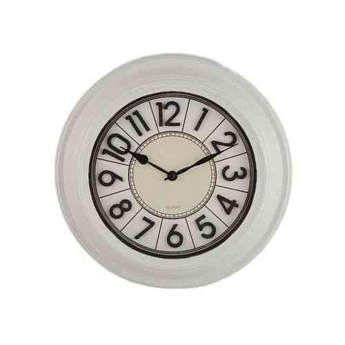 Elegant White Wall Clock - 15x15""