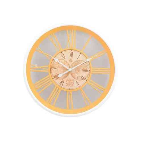 """High Quality Silent Non Ticking Quartz White Wall Clock For Home School Office - 12X12"""""""