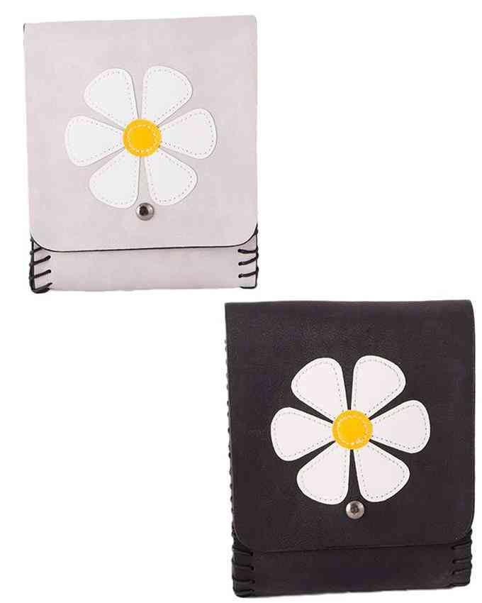 Pack of 2 Clutch With Long Belt - Multicolour - C-210-211