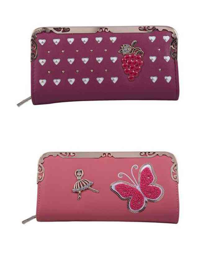 Pack of 2 Clutches for Women - Multicolour - C-256-259