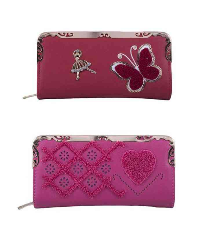 Pack of 2 Clutches for Women - Multicolour - C-262-265