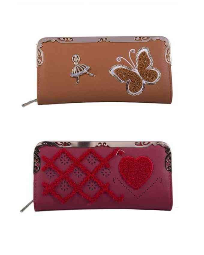 Pack of 2 Clutches for Women - Multicolour - C-267-269