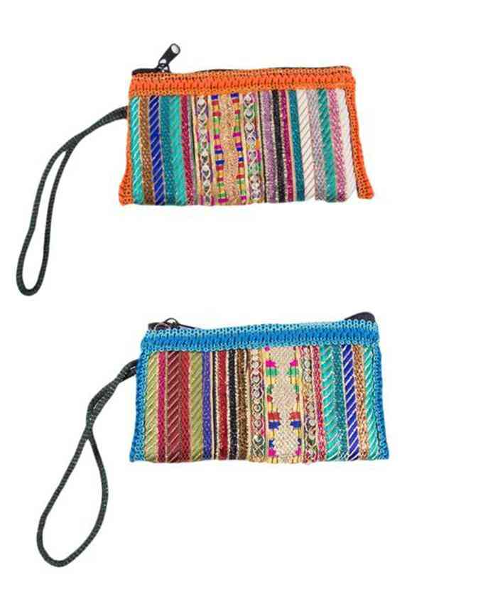 Pack of 2 Clutches for Women - Multicolour - C-329-330