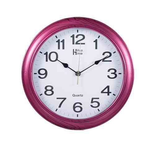 Fine Finishing Wall Clock - 12x12 Inch - Purple