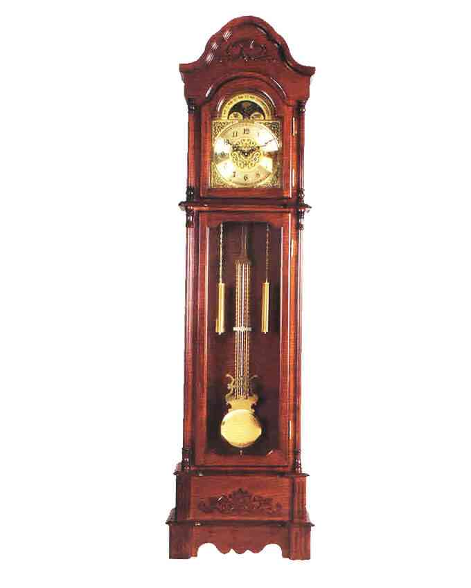 Grand Father Clock Westminster Pendulum - (20 Inches Width x 78 Inches Height, Sheesham Solid Wood, Imported, With Hourly Chimes) - A