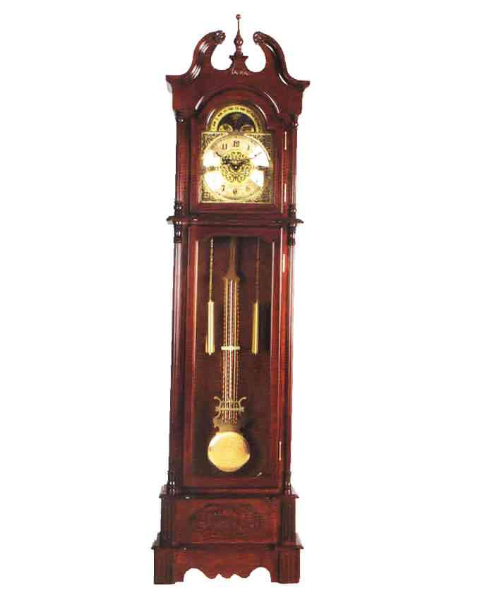 Grand Father Clock Westminster Pendulum - (20 Inches Width x 78 Inches Height, Sheesham Solid Wood, Imported, With Hourly Chimes) - B