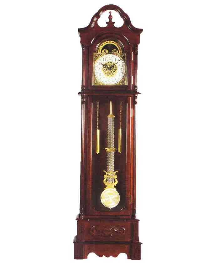 Grand Father Clock Westminster Pendulum - (20 Inches Width x 78 Inches Height, Sheesham Solid Wood, Imported, With Hourly Chimes) - D