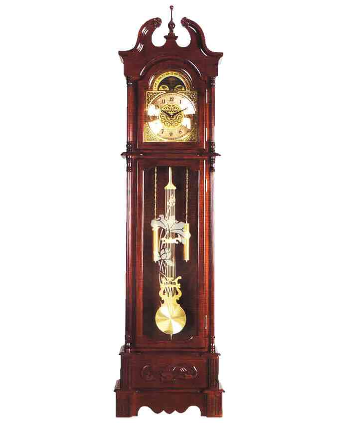 Grand Father Clock Westminster Pendulum - (20 Inches Width x 78 Inches Height, Sheesham Solid Wood, Imported, With Hourly Chimes) - E