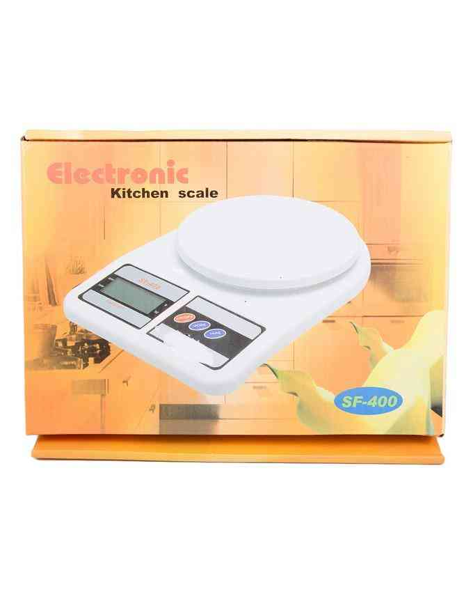 Digital Kitchen Scale Kitchen Weight Meter High Accuracy Multifunction Food Scale with Fingerprint Resistant Coating