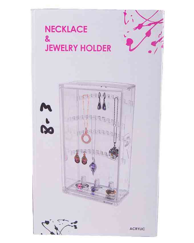 Acrylic Necklace and Jewellery Holder