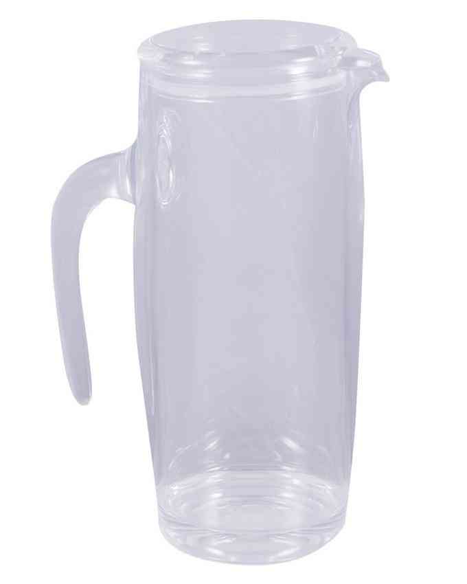 Arryclic Jug For Juice Oil Multipurpose Transparent Crystal Jug
