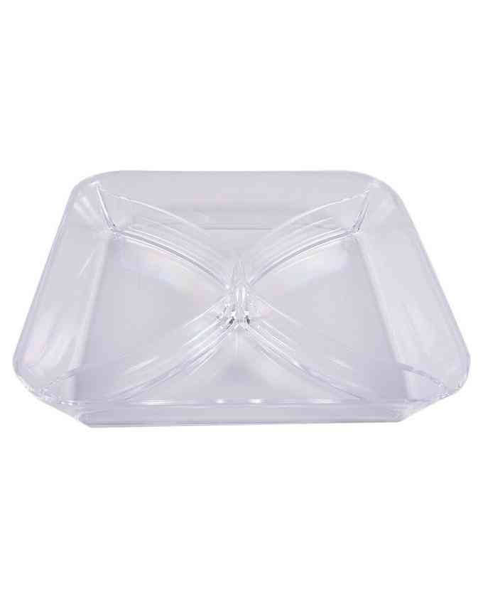 Crystal Acrylic Candy Tray Table Tray For Coffee Table Bowl