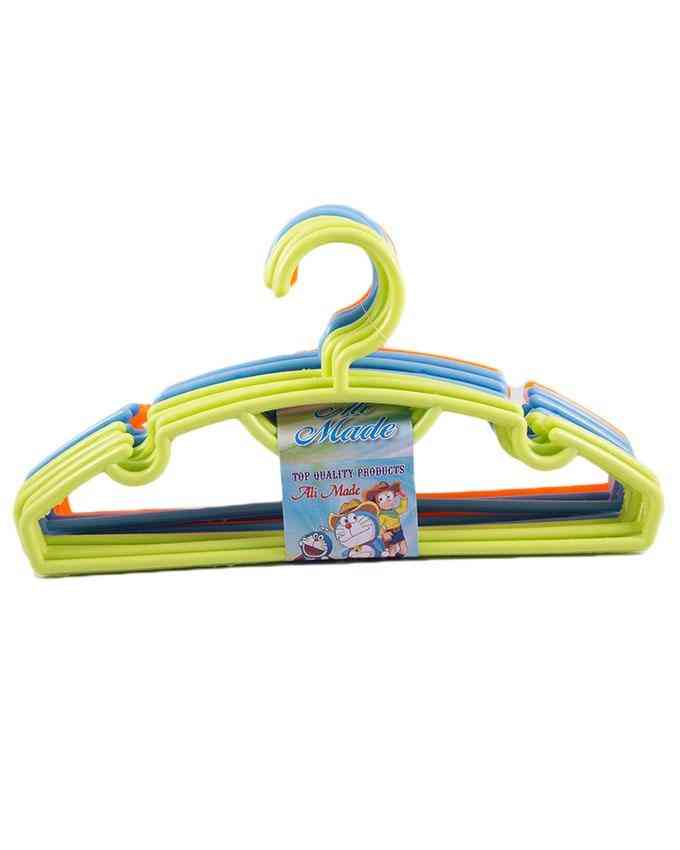 Pack of 12 - Plastic Small Size Hanger Preferrably for Kids Clothes