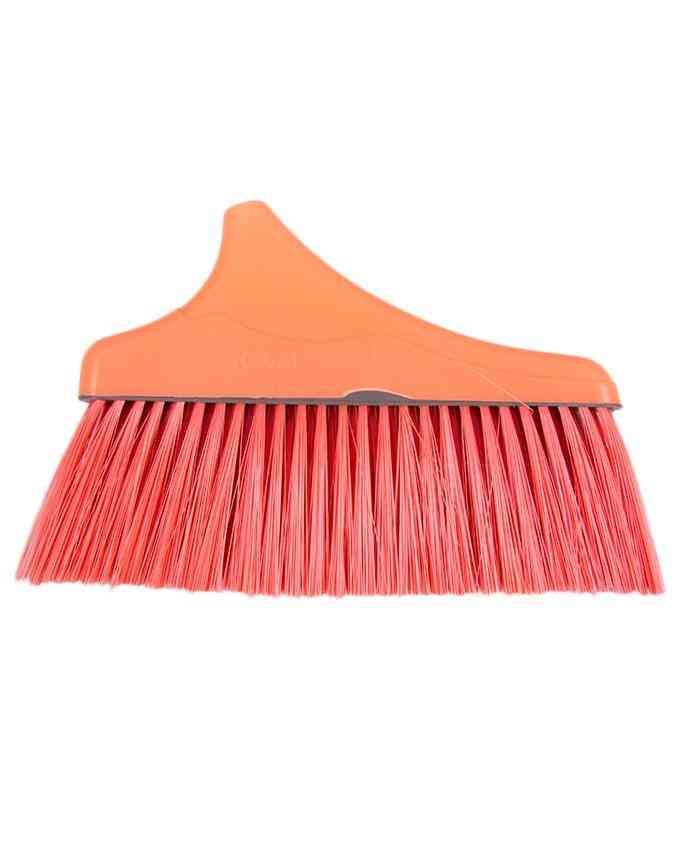 Broom and Dustpan Set For Outdoor or Indoor With Long Handle For Garden Wood Floors Sweeping Kitchen House - High Quality
