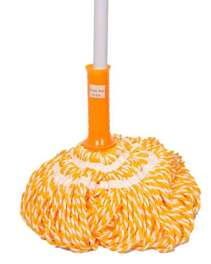 Semi Automatic Water Locking Mop (easy to dry without squeezing)