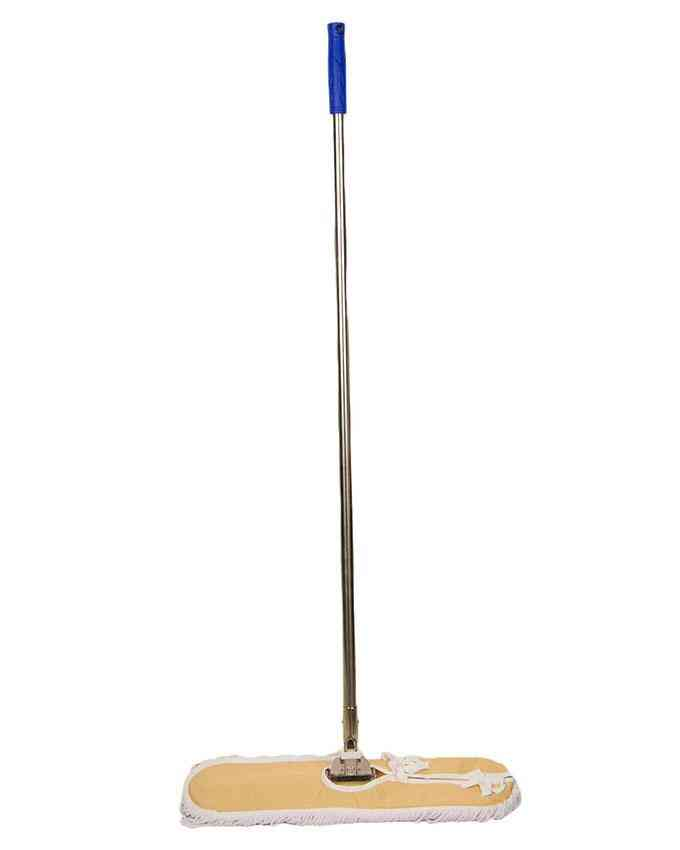 Microfiber Sweeper Dust Mop - Long Stainless Steel Handle