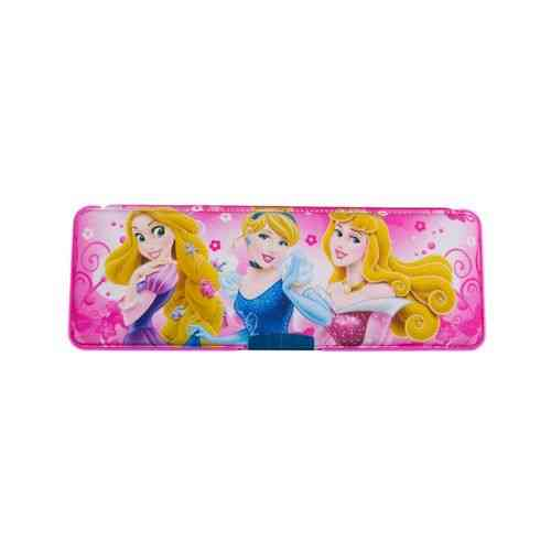 Pack of 2 - Pencil Box Stationery Box With Pencil Sharpener - 9x3 Inch - Barbie