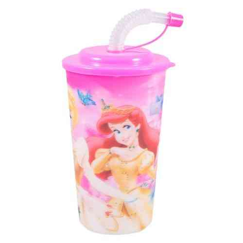 Beverage Water Cold Drink Soft Drink Drinking Cup Travel Cup With Straw - 6 Inch - Barbie