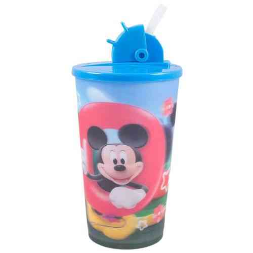 Beverage Water Cold Drink Soft Drink Drinking Cup Travel Cup With Straw - 6 Inch - Looney Tunes