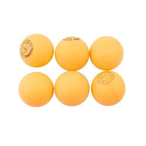 Pack of 6 - High Quality Table Tennis Balls - White