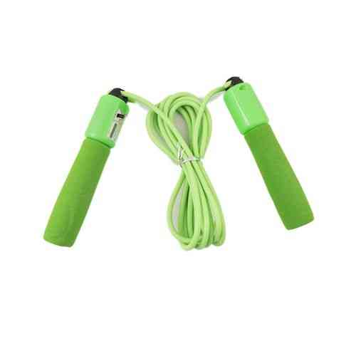 Adjustable Size Skipping/Jump Rope With Counter - Green