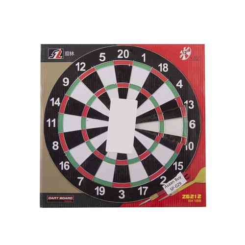 High Quality Dart Board With Darts - 12 Inch