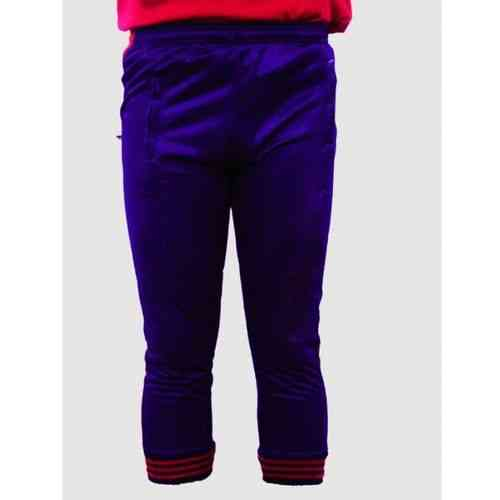 Asaan Sports Lite Kids Sports Trouser Gym Wear Exercise Wear - Red