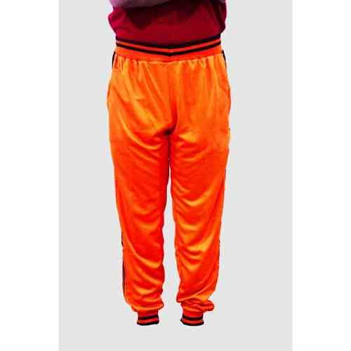 Men And Women'S High Quality Sports Football Trouser Gym Wear Exercise Wear - Orange