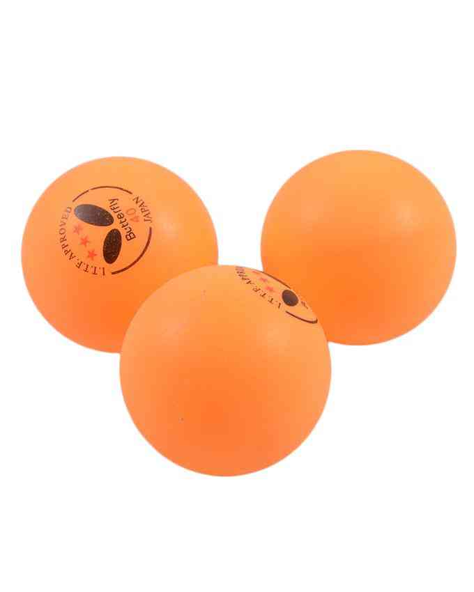 Pack of 3 Butterfly 40 Japan Table Tennis Match Balls