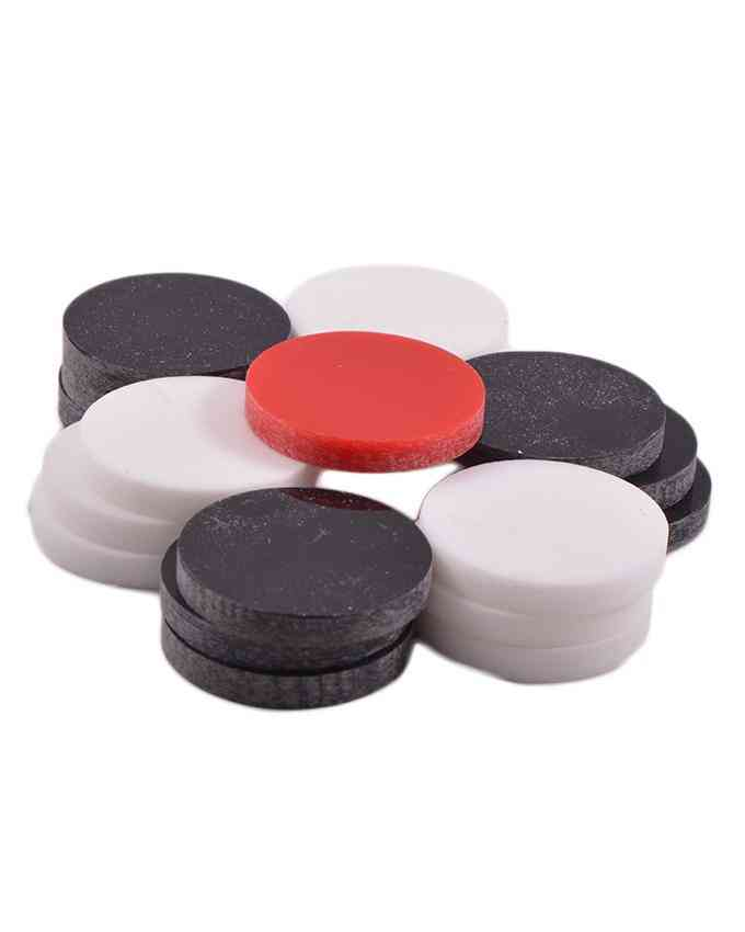 Carrom Board Goti Carrom Coin Set for 28 Inch Carrom