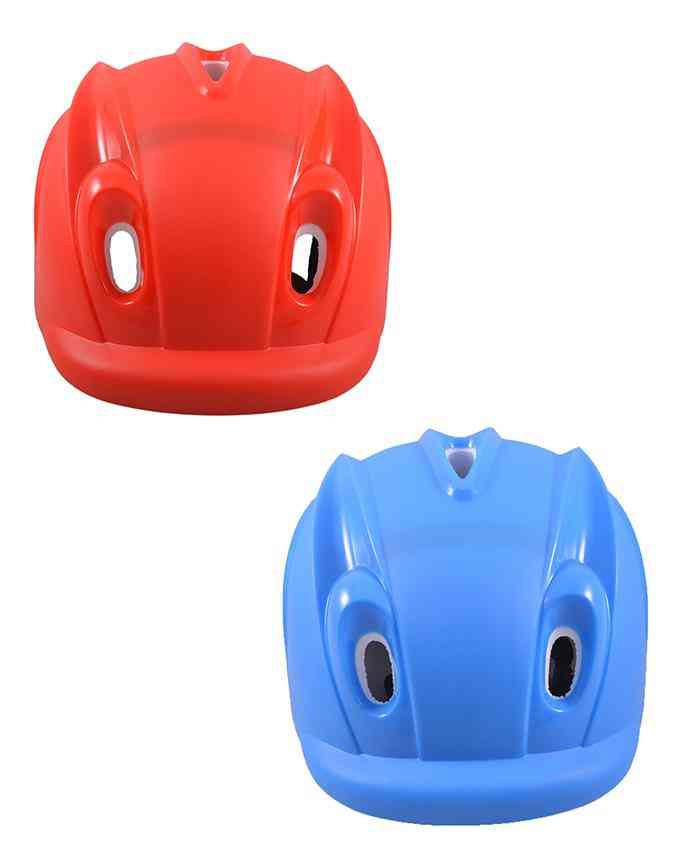 Pack of 2 Head Protection Helmet for Skating Games - High Quality (For 15+ Age) - Multicolour - (SP-257-258)