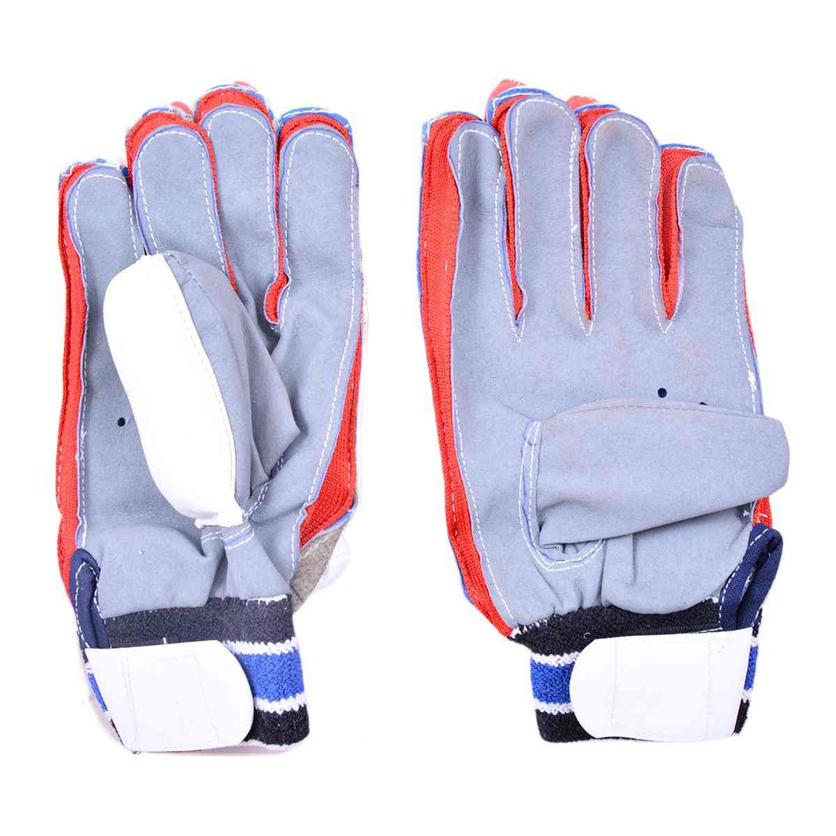 Cricket Batting Gloves for Adults (For 14+ Years Age and Long Lasting Leather Material)