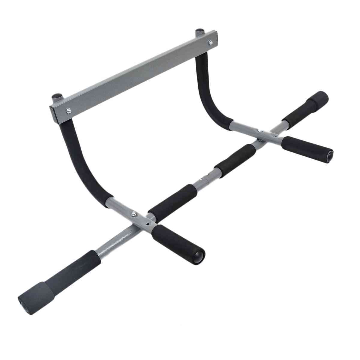 Iron Gym Upper Body Workout Bar with Workout Guide (For Chin Ups and Sit Ups and Push Ups and and Dips)