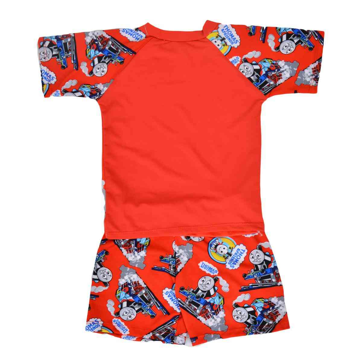Thomas Train Swimming Suit for Kids - Red (3 to 4 Years)