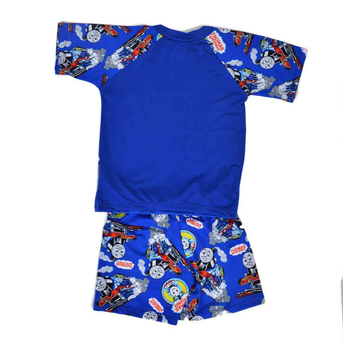 Thomas Train Swimming Suit for Kids - Blue (3 to 4 Years)