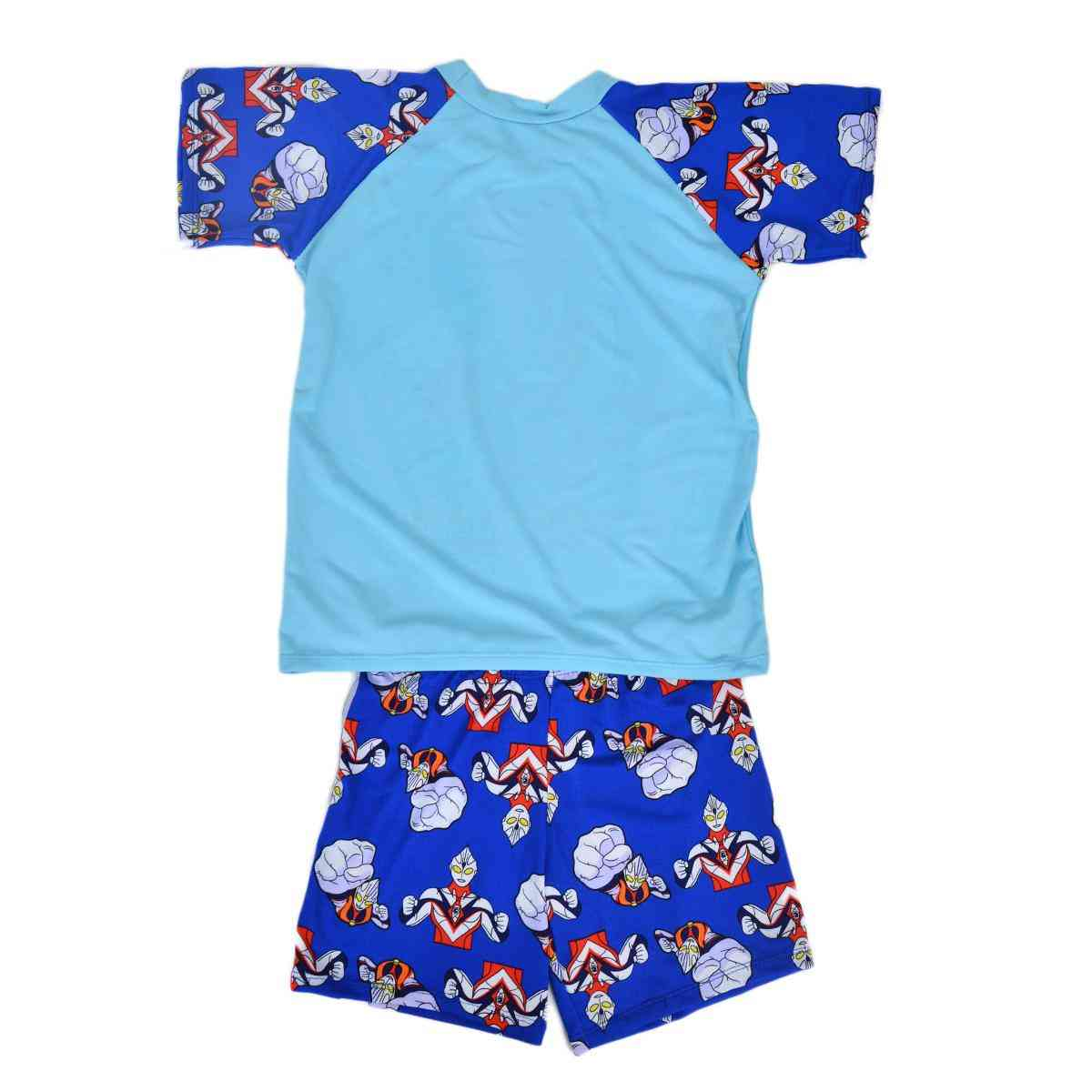 Aoteman Swimming Suit for Boys - Blue (4 to 5 Years)