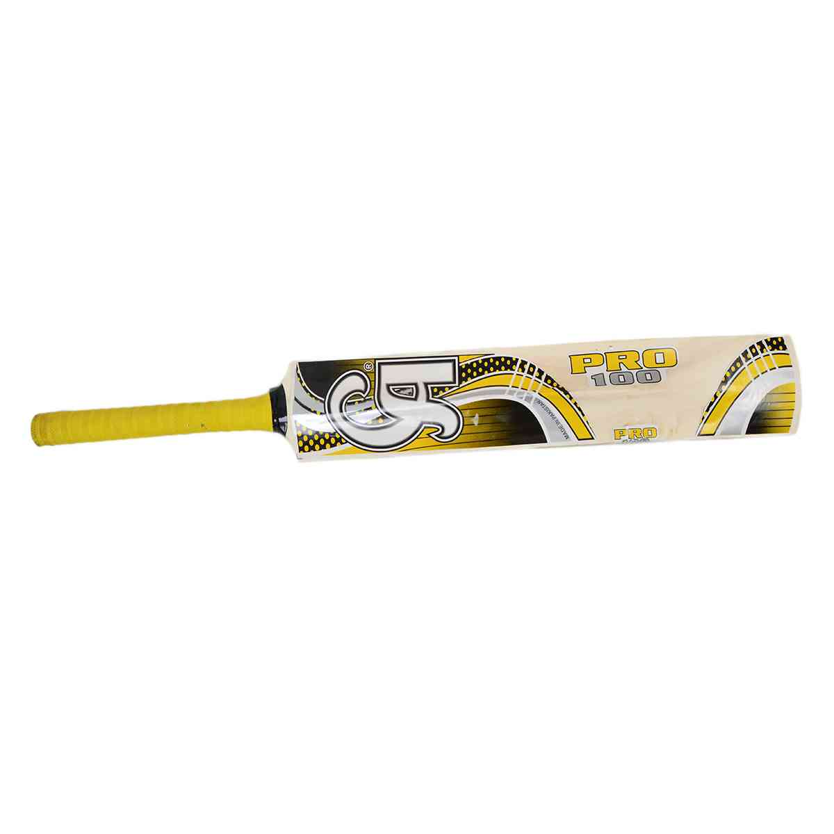 CA Pro 100 Tape Ball Cricket Bat for Adults (33.5 Inch Length)