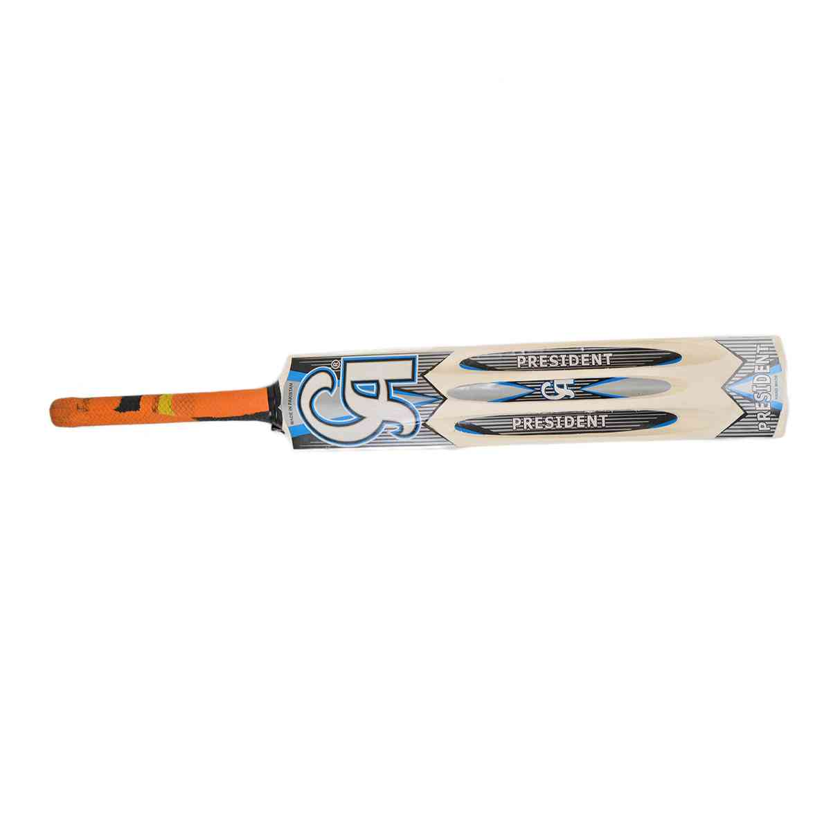 CA President Tape Ball Cricket Bat for Adults (33.5 Inch Length)