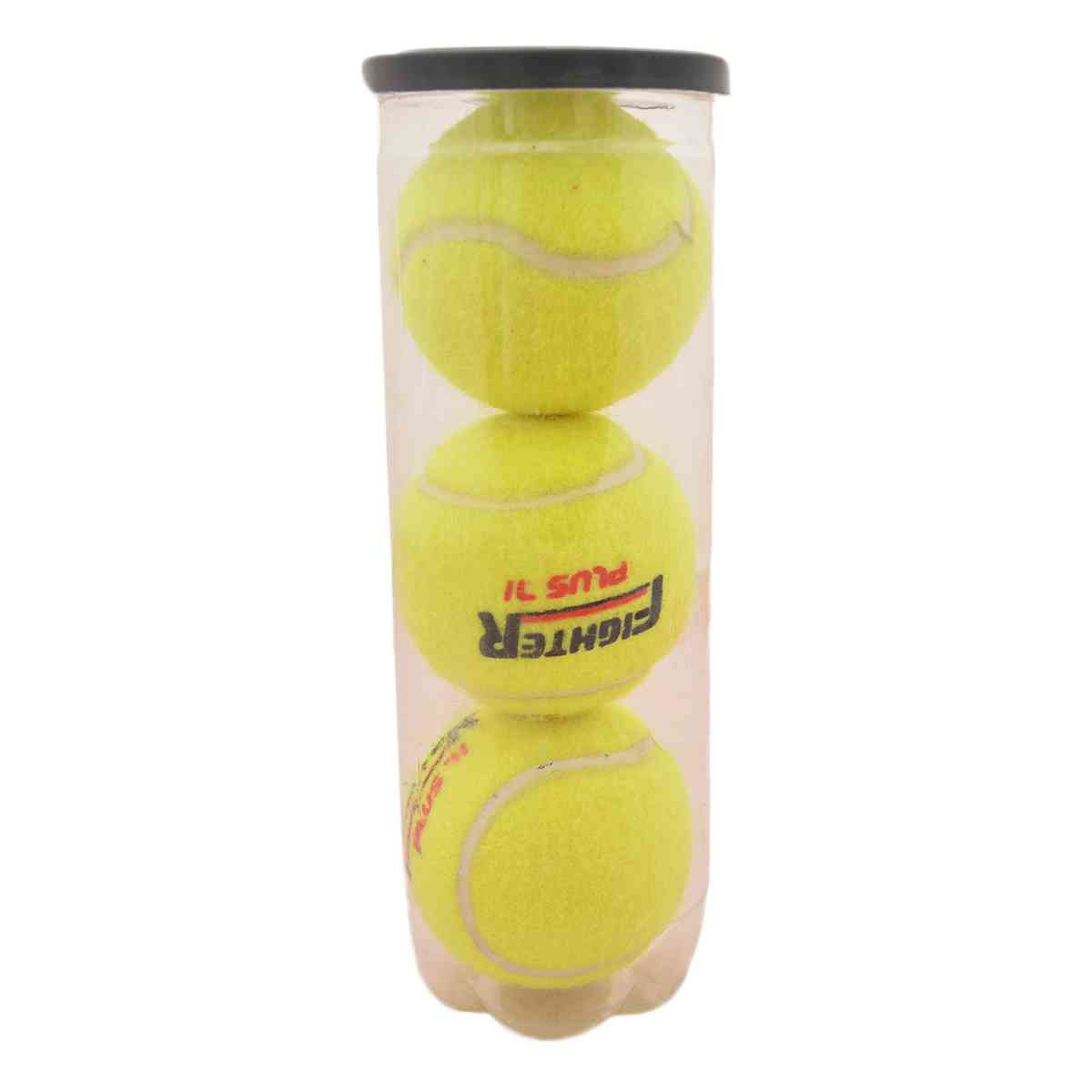 Pack of 3 Fighter Plus Tennis Balls For Tape Ball Cricket and Tennis