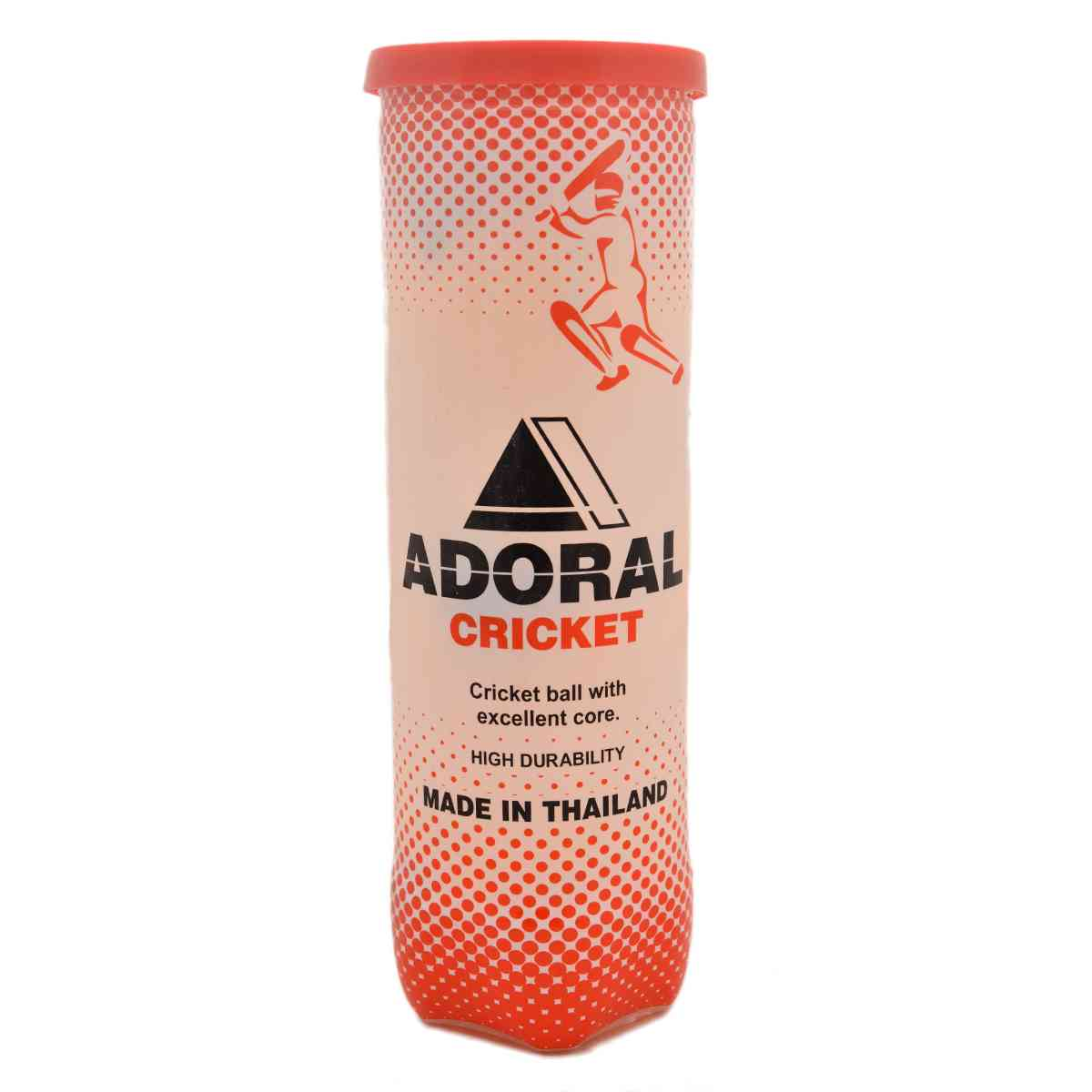 Adoral Cricket Pack of 3 Tennis Balls For Cricket and Tennis (High Quality, Made in Thailand)