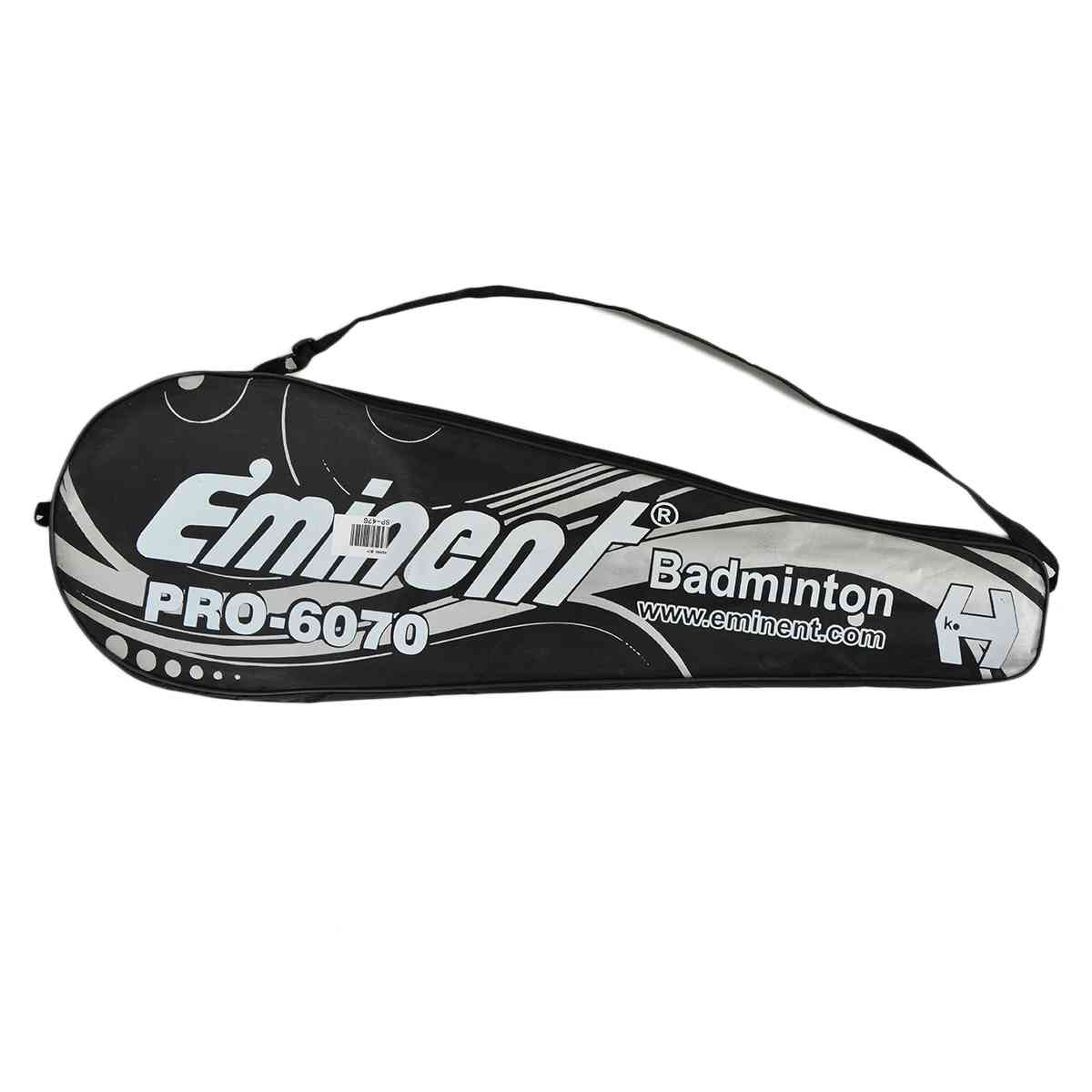 2 Pcs Eminent Pro 6070 Badminton Rackets With Bag (With Joint, 26 Inch Length)