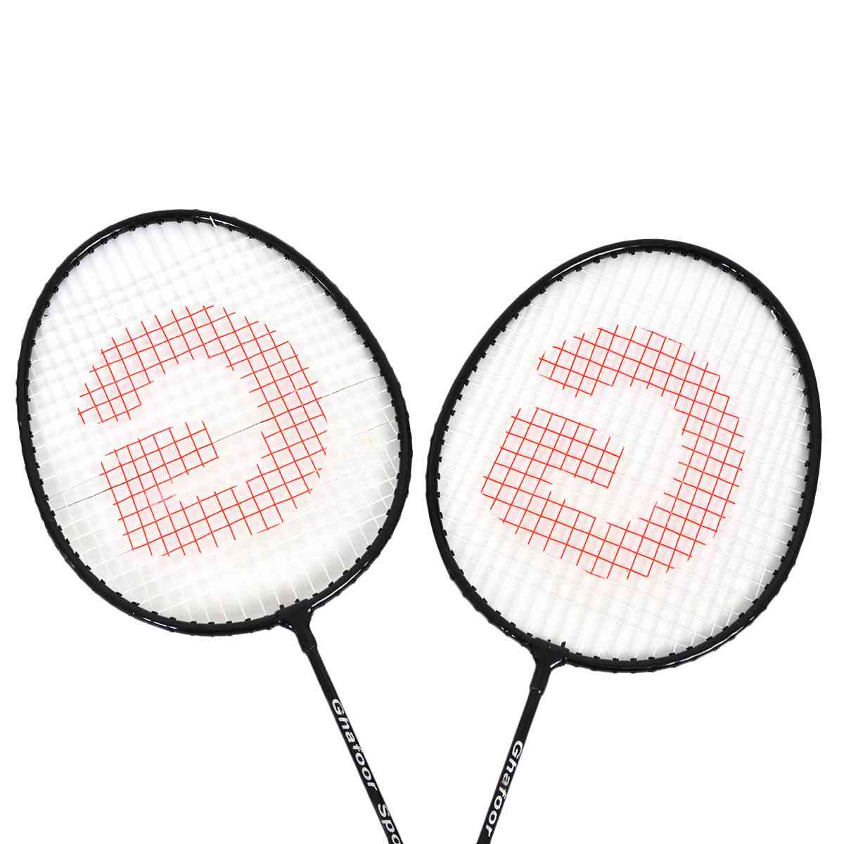 2 Pcs Good Quality Badminton Rackets with Bag (With Joint ...