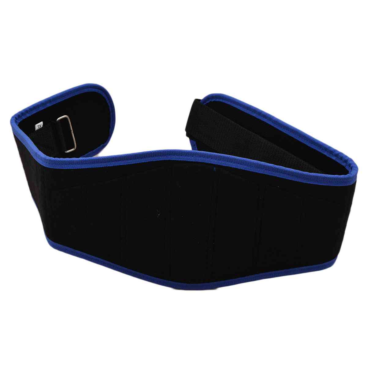 Weight Lifting Gym Fitness Power Belt Back Pain Support Belt - Blue