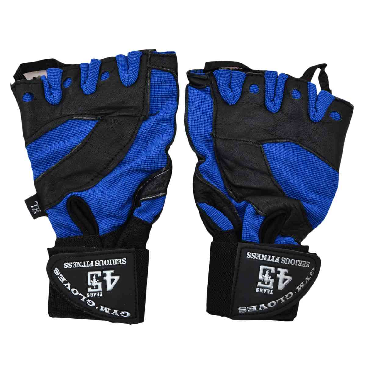 2 Pcs Gym Gloves - Blue