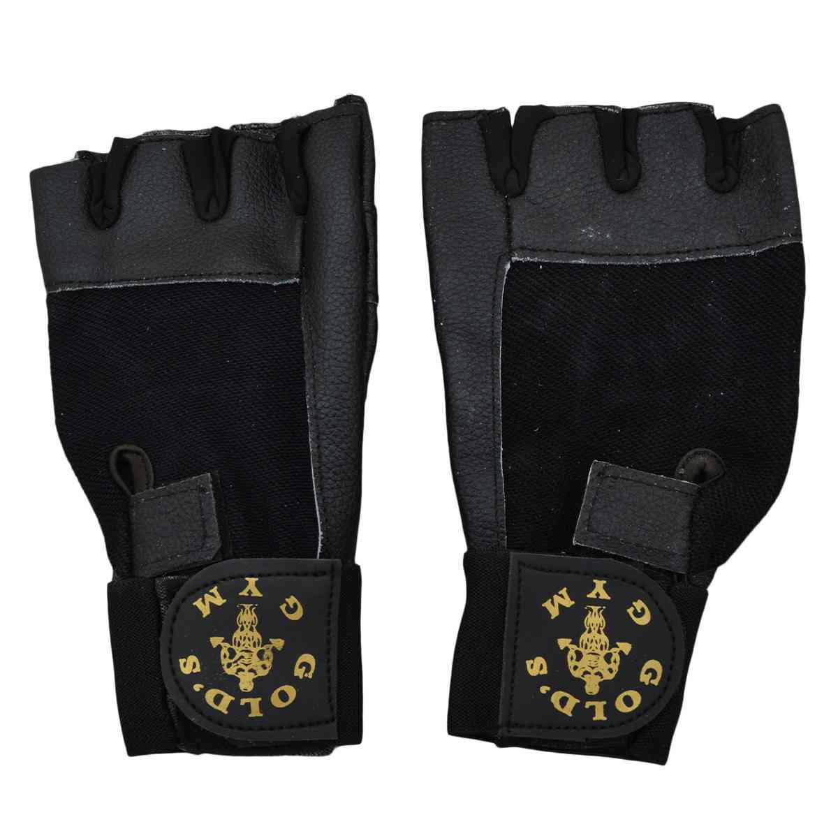 2 Pcs Gym Gloves - Black