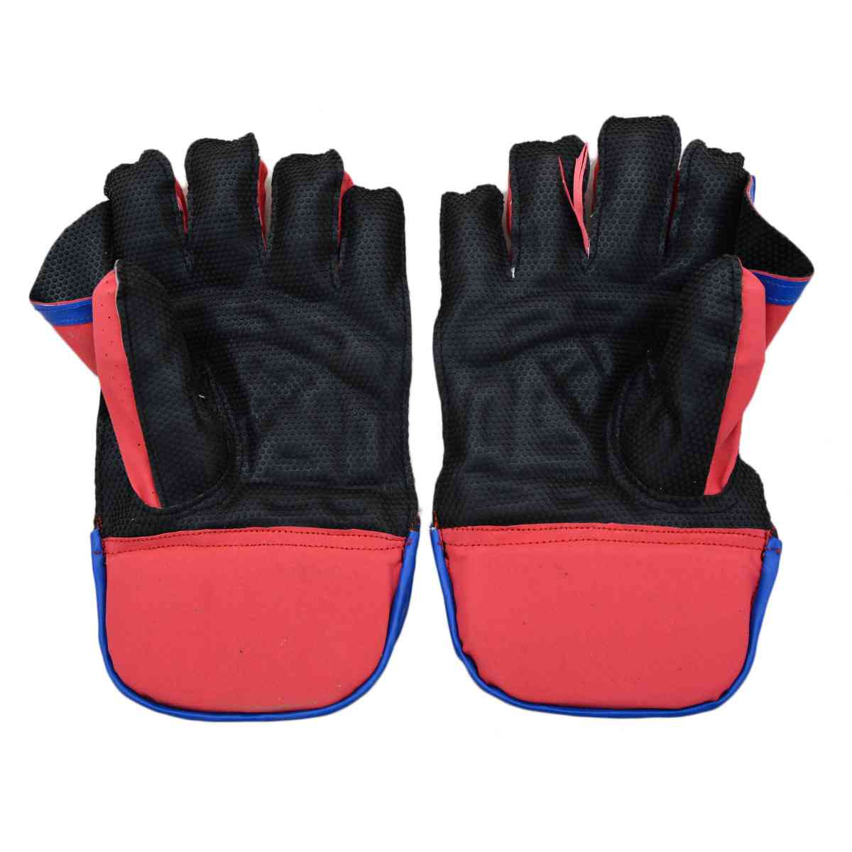 2 Pcs GM Football Goal Keeper Gloves - Red