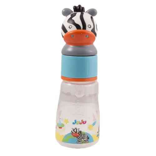 125ML BPA Free Feeding Bottle - High Quality - Black