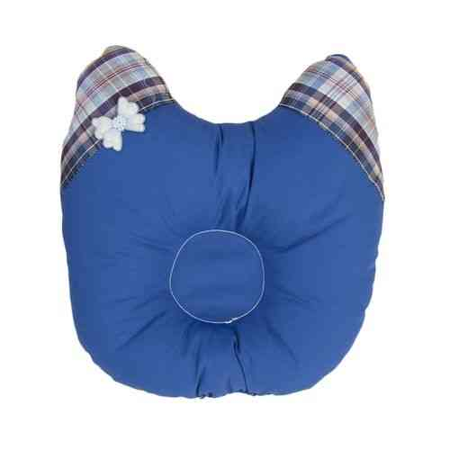 Newborn Infant Stuffed Pillow For Baby Infant Care - Blue